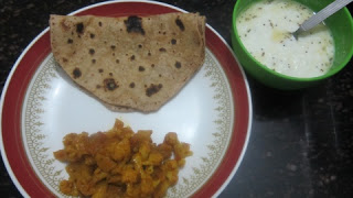 Cauliflower Nookal Poriyal
