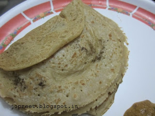 Pepper Wheat Dosa