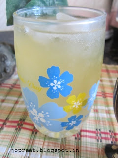 Lemon & Jaggery Drink