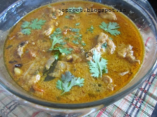 Spicy Chicken Kuzhambu