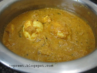 Egg & Paneer Curry