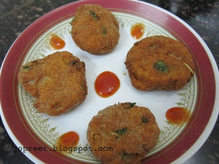 Minced chicken cutlets