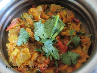 Carrot & Methi Poriyal