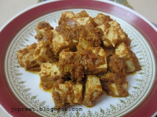 Juicy Masala Paneer