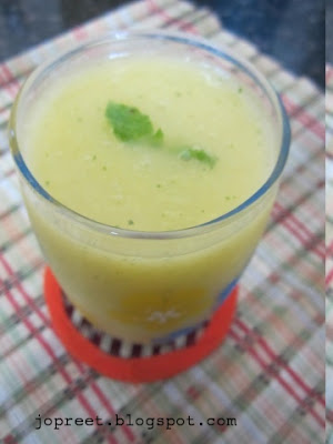 Mango Juice - Flavored with Mint & Ginger