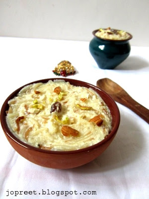 Apple Vermicelli Kheer