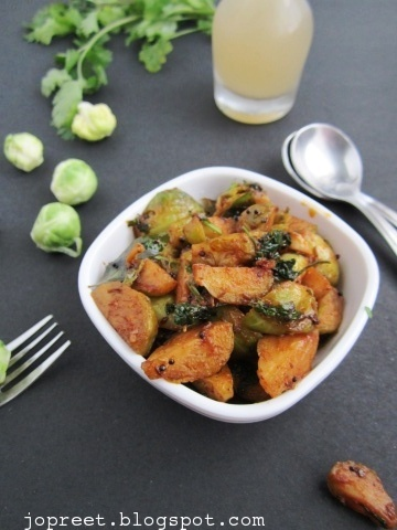 how to cut brussel sprouts for stir fry