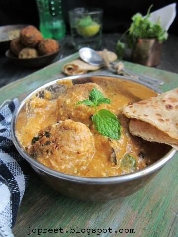 Hariyali Kofta Curry