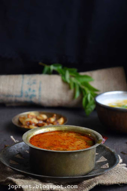 Karuvadu Konda Kadalai Kuzhambu (Dry/Salt Fish & ChickPeas Curry) - Without Coconut