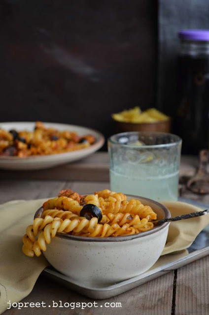 Chicken Fusilli Pasta