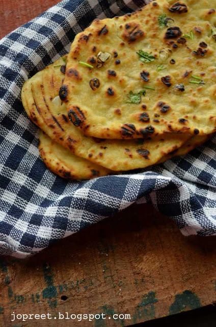 Homemade Naan Bread - without yeast (Stove Top Method)