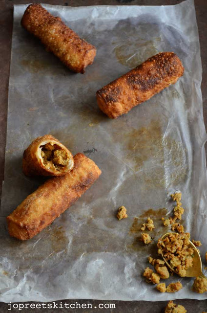 Chicken Cigar (Mini Chicken Rolls )