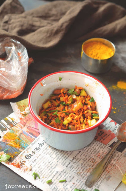 Masala Pori / Spicy Puffed Rice