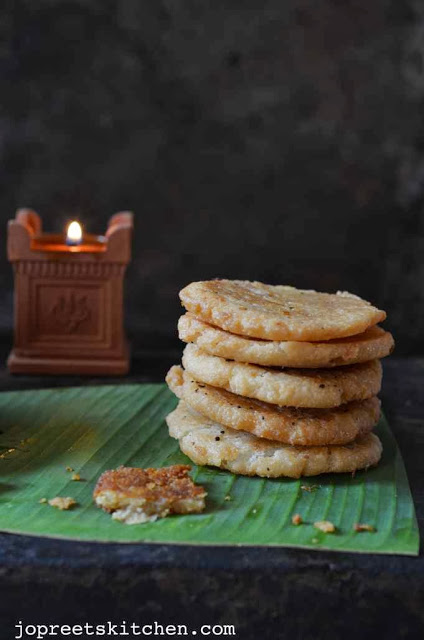 Adhirasam / Ariselu (Jaggery & Sugar Versions) - Diwali Sweets