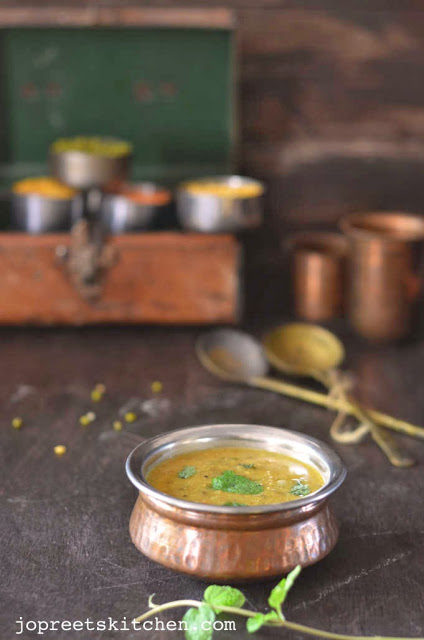 Panchratan / Panchratani Dal (Dal made with Five Lentils)