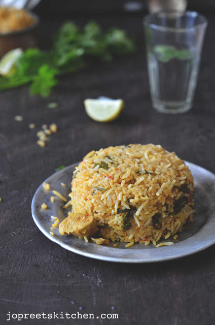 Ambur Chicken Biriyani - South Indian Special Biriyani Recipe