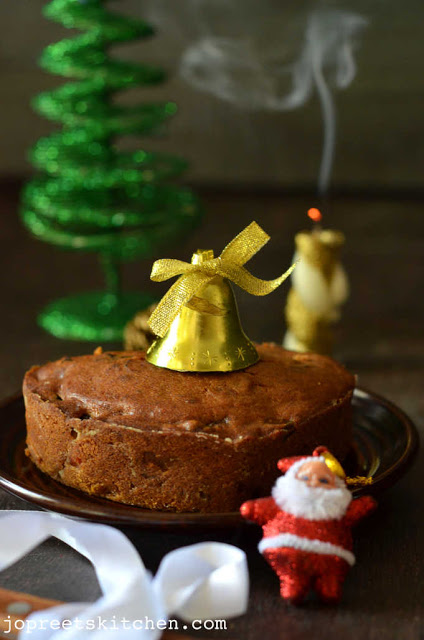 Christmas Fruit Cake / Plum Cake (No Alchohol Version)