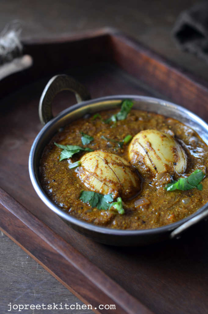 Mustard Egg Curry Without Tomato Coconut