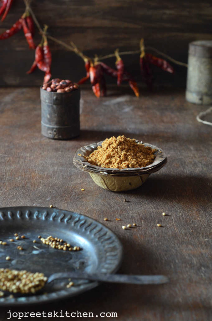 Peanut Podi / Verkadalai Podi - Podi Varieties for Rice