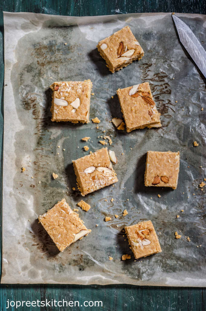 Mohanthal Recipe / Gram Flour Fudge - A Traditional Gujrati Sweet