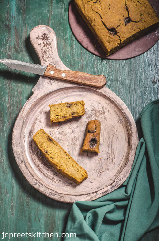 Vegan Pumpkin Gingerbread / Pumpkin Millet Bread