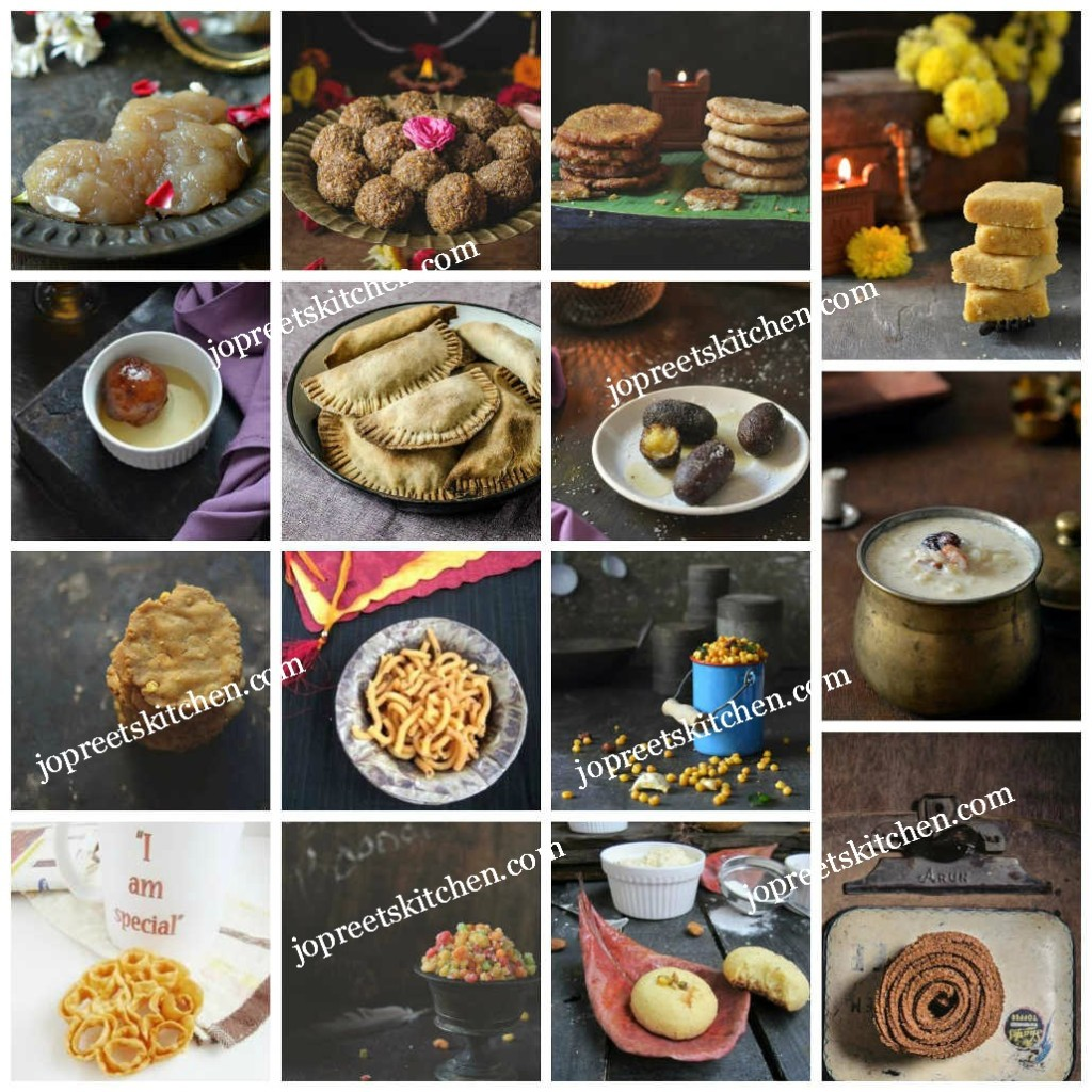 Collection of Diwali Sweets & Savories - 70+ Diwali Recipes