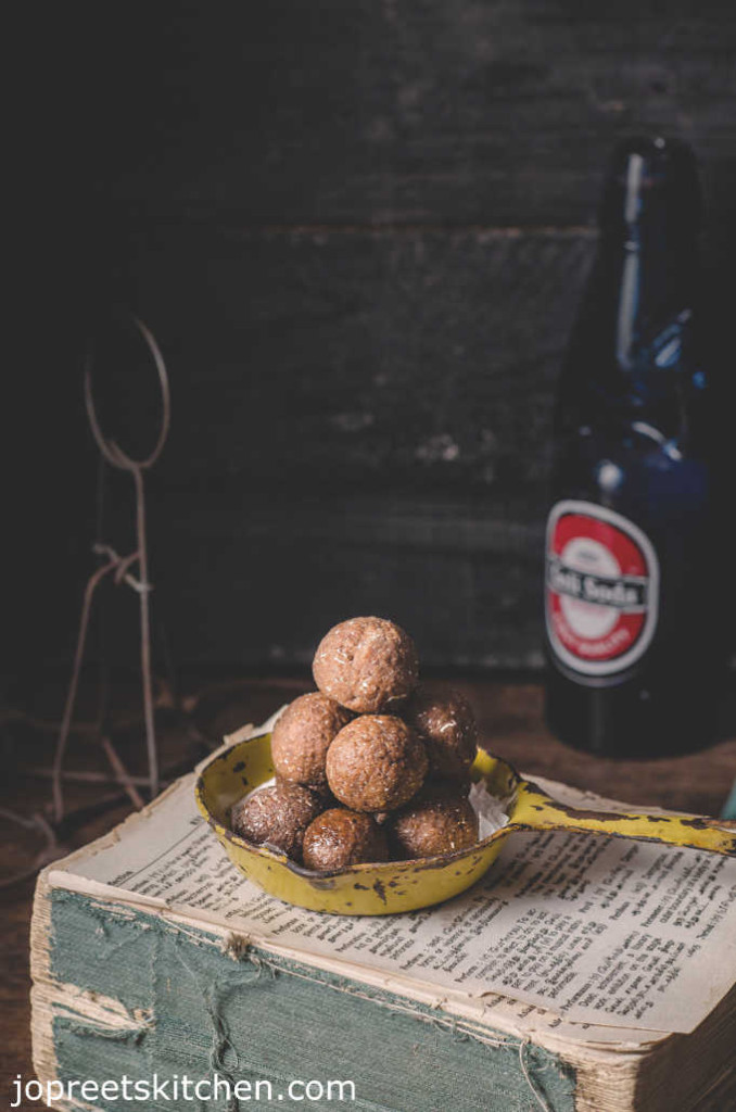Kamarkat / Coconut Jaggery Balls (Hard Ball Candy) - No Ghee Sweets