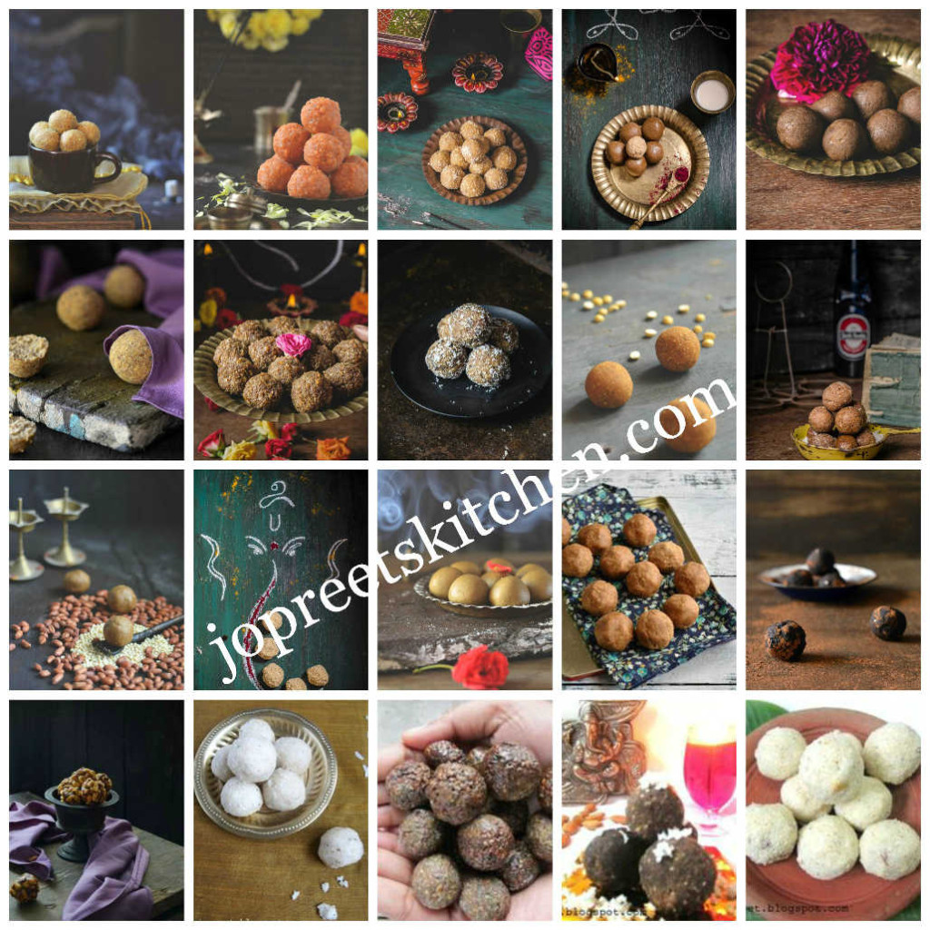 Collection of 20 Ladoo Recipes