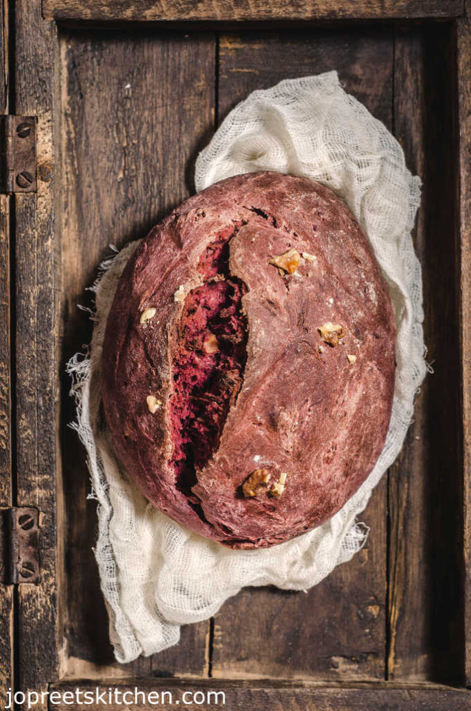 Beetroot & Honey Bread