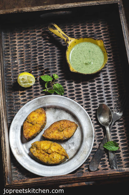 King Fish Tikka Recipe / Spicy Vanjaram Meen Tikka