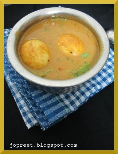 egg carrot curry