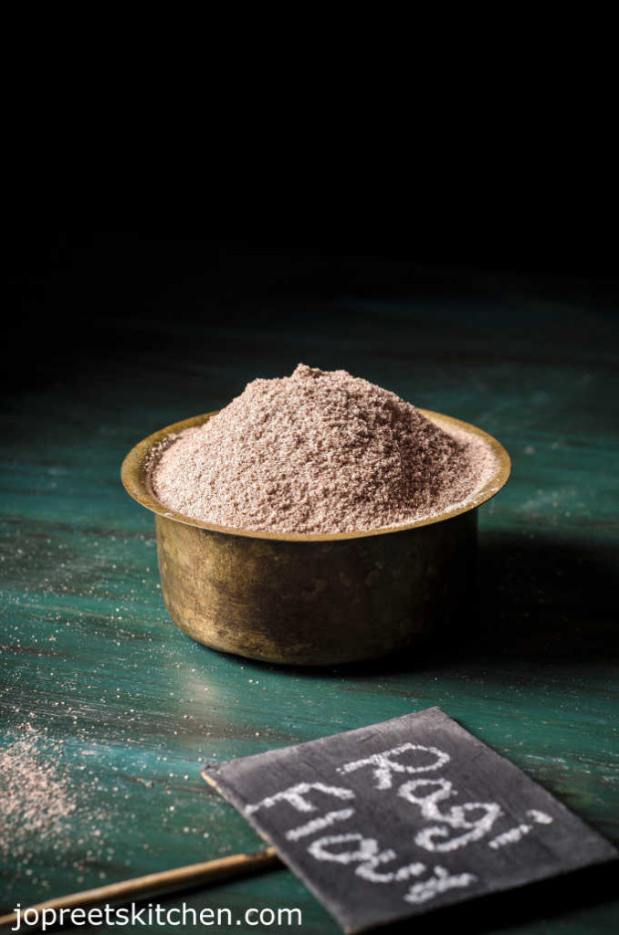 Sprouted Ragi Flour Recipe / Homemade Ragi Flour