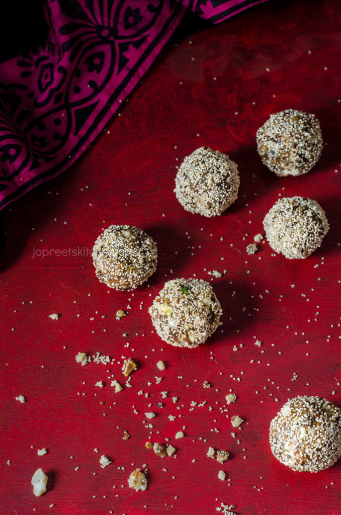 Dates & Nuts Ladoo / Dry Fruits Laddu Recipe