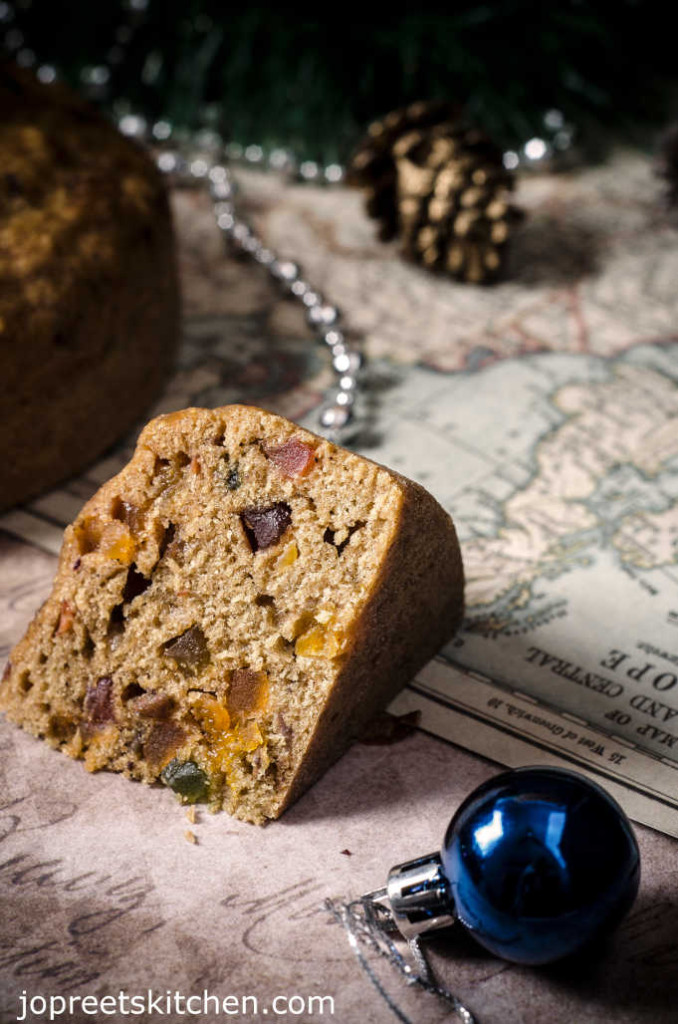 No Soak Christmas Fruit Cake Steamed Recipe
